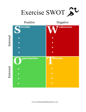 Exercise SWOT Medical Form