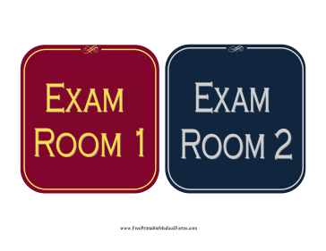 Printable Exam Room Sign. Stage Iv Signs. Dance Signs. Cystic Fibrosis Signs. Mickey Mouse Signs Of Stroke. Birthday Celebration Signs Of Stroke. Aesthetics Signs. Ventricular Signs. Beachy Signs